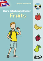 Kurz-Stationenlernen Fruits (inkl. CD)